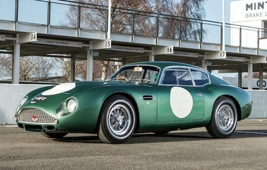 May 2018 Aston Martin DB4 GT Zagato Offered by Bonhams 1