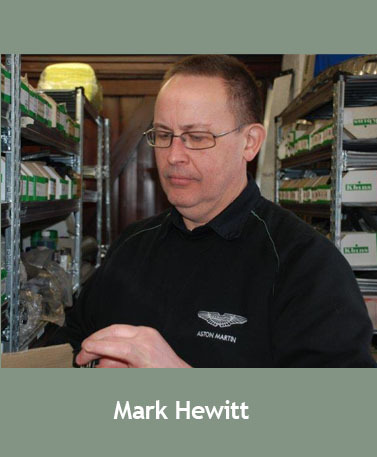 Mark Hewitt, Parts Manager at Desmond J. Smail